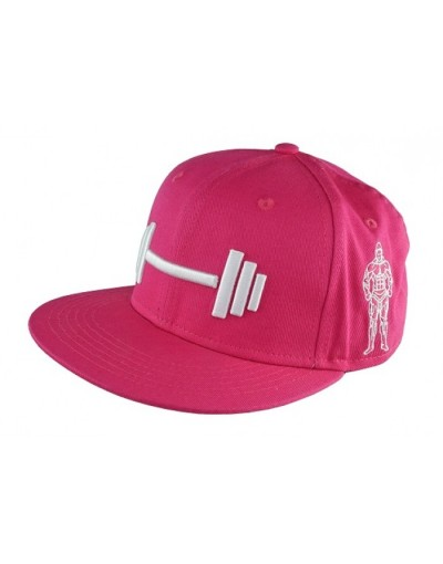 MPP Clothing Snapback Pink/White