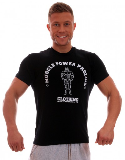 MPP T-shirt Muscle Black/White