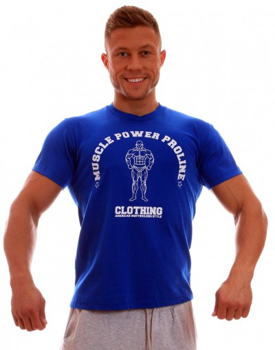 MPP T-shirt Muscle Blue/White