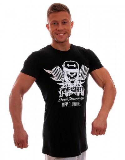 MPP T-shirt Pump 4 Street Black