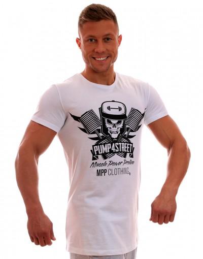 MPP T-shirt Pump 4 Street White