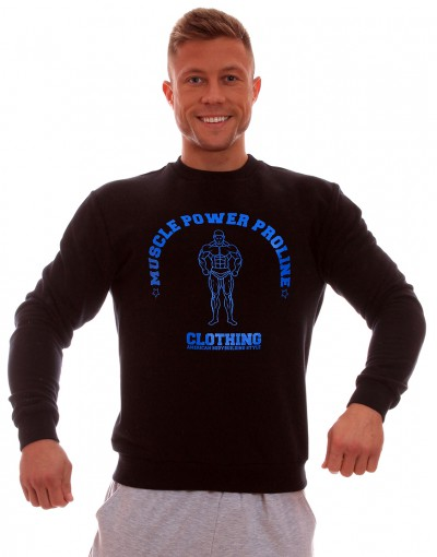 MPP Clothing Jumper Black/Blue