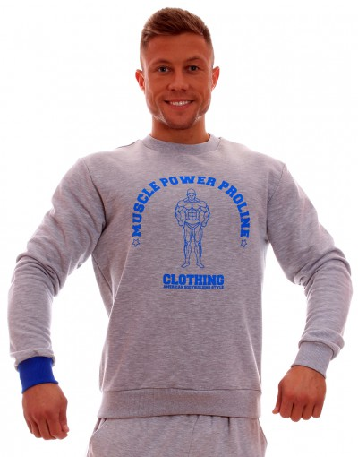 MPP Clothing Jumper Grey/Blue