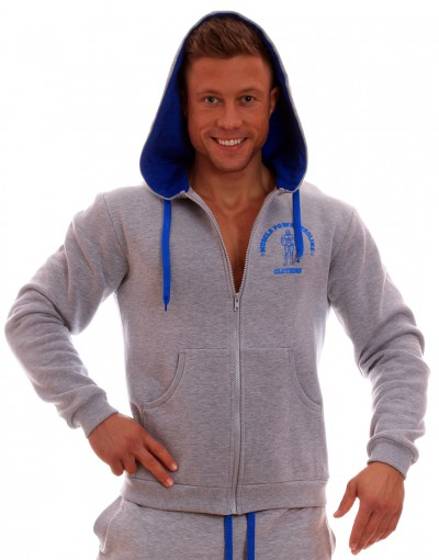 MPP Clothing Hoodie Grey/blue