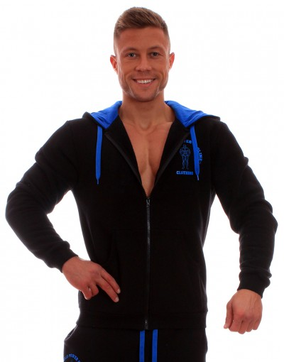 MPP Clothing Hoodie Black/Blue