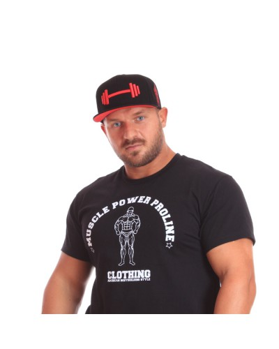 MPP Clothing Snapback Black/red