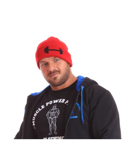 MPP Clothing Winter Hat Red/Black