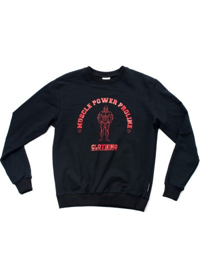 MPP Clothing Jumper Black/Red