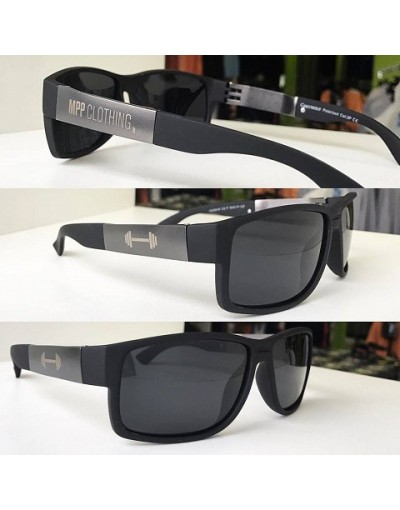 MPP Sunglasses BLACK  SILVER NEW
