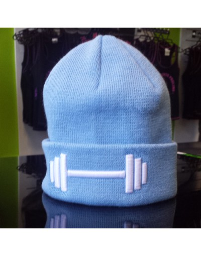 MPP Clothing Winter Hat SkyBlue/White