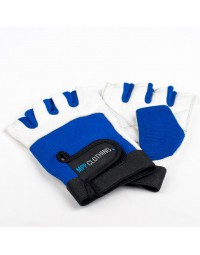 MPP Fitness Gloves White/Blue