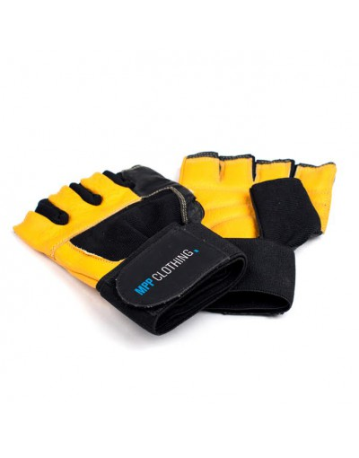 MPP Fitness Gloves Yellow/Black +Wraps